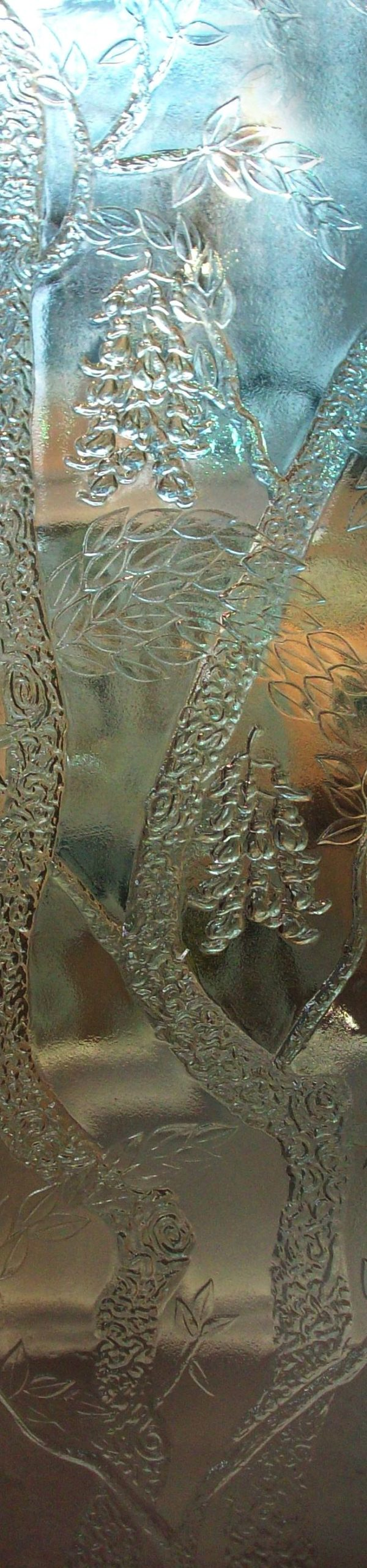 Carved Glass Panel PGC587